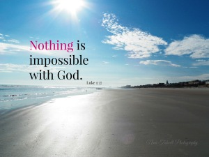 Ponce-Church-nothing-is-impossible-with-God-beach-photo